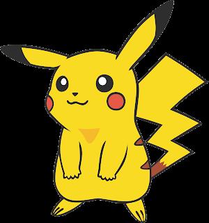 Vetor Pikachu corel draw .CDR gratis
