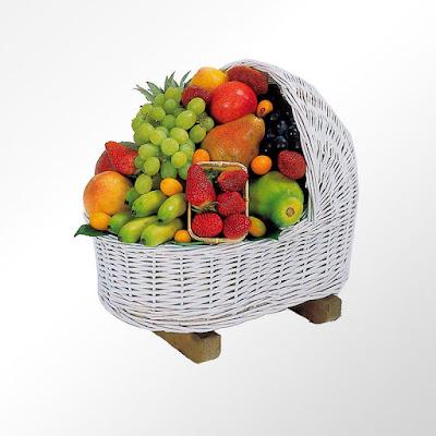 fashion fruit, cestas de nacimiento, cestas de fruta,