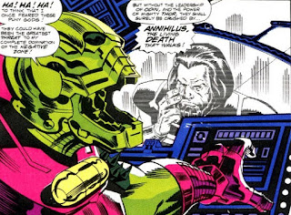 Thor 434 Annihilus Warriors Three