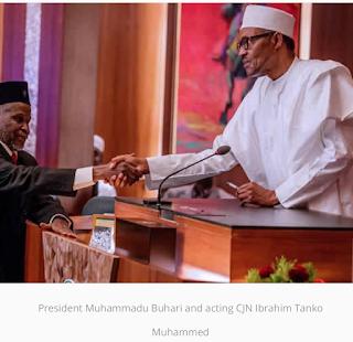 President Buhari didn't need NJC to appoint me – Acting CJN Ibrahim Tanko Muhammad
