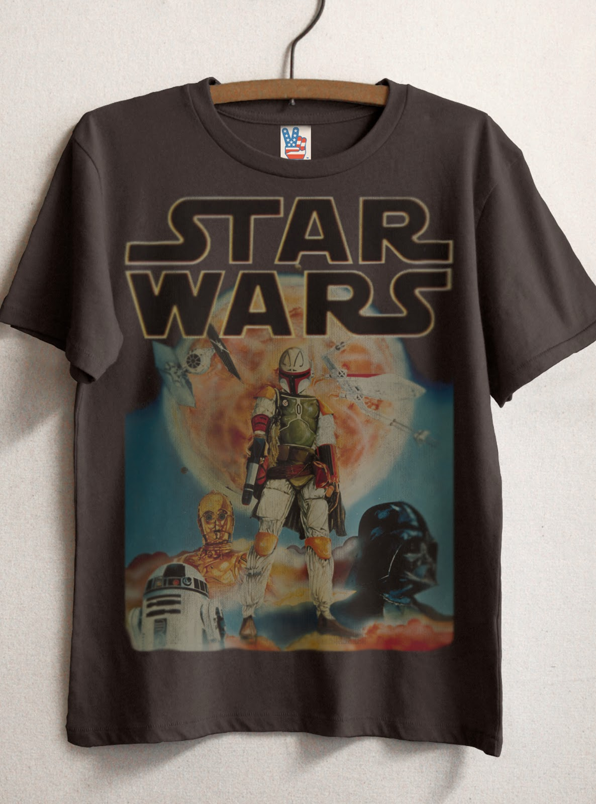 Star Wars Vintage T Shirt 96