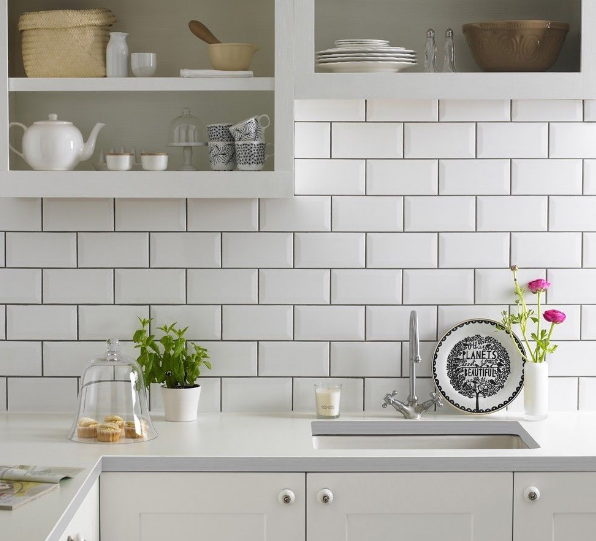 Kumpulan Gambar Contoh Model Terbaru Keramik Dinding Dapur Minimalis terbaru 2018