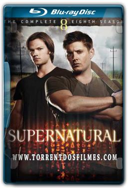 Supernatural 8ª Temporada - Torrent Blu-Ray (Oficial) 720p Dual Áudio