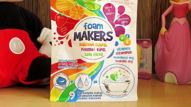 капсулы для ванны Foam Makers