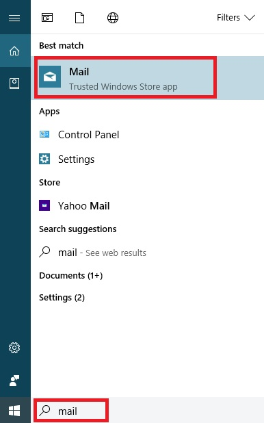 Using Email Apps Windows 10 to Backup and Sync with a Gmail account