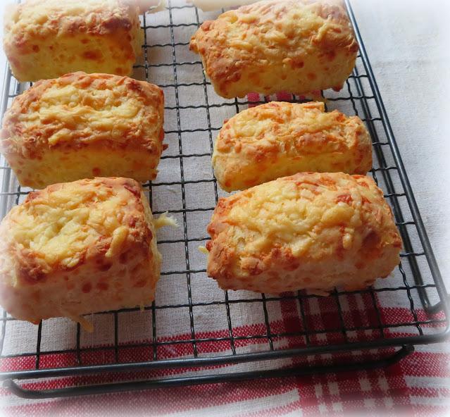 Three Ingredient Cheese Scones
