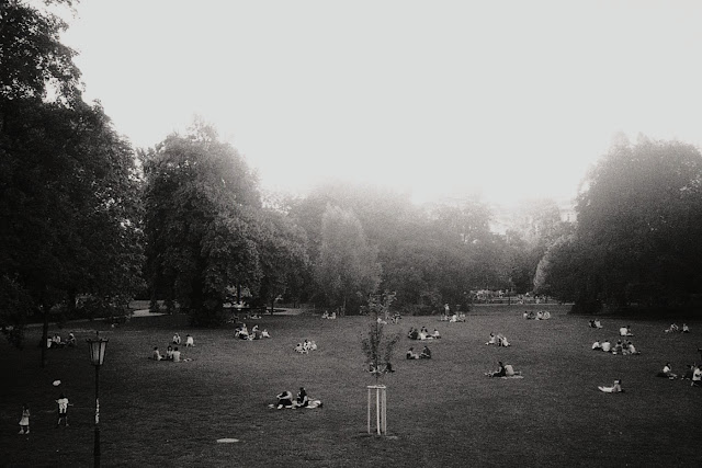 Przed wschodem słońca, czyli lato w Wiedniu - wspomnienie.