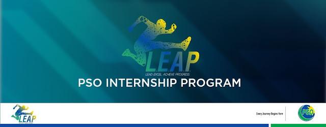 Pakistan State Oil PSO Leap Internship Program 2019