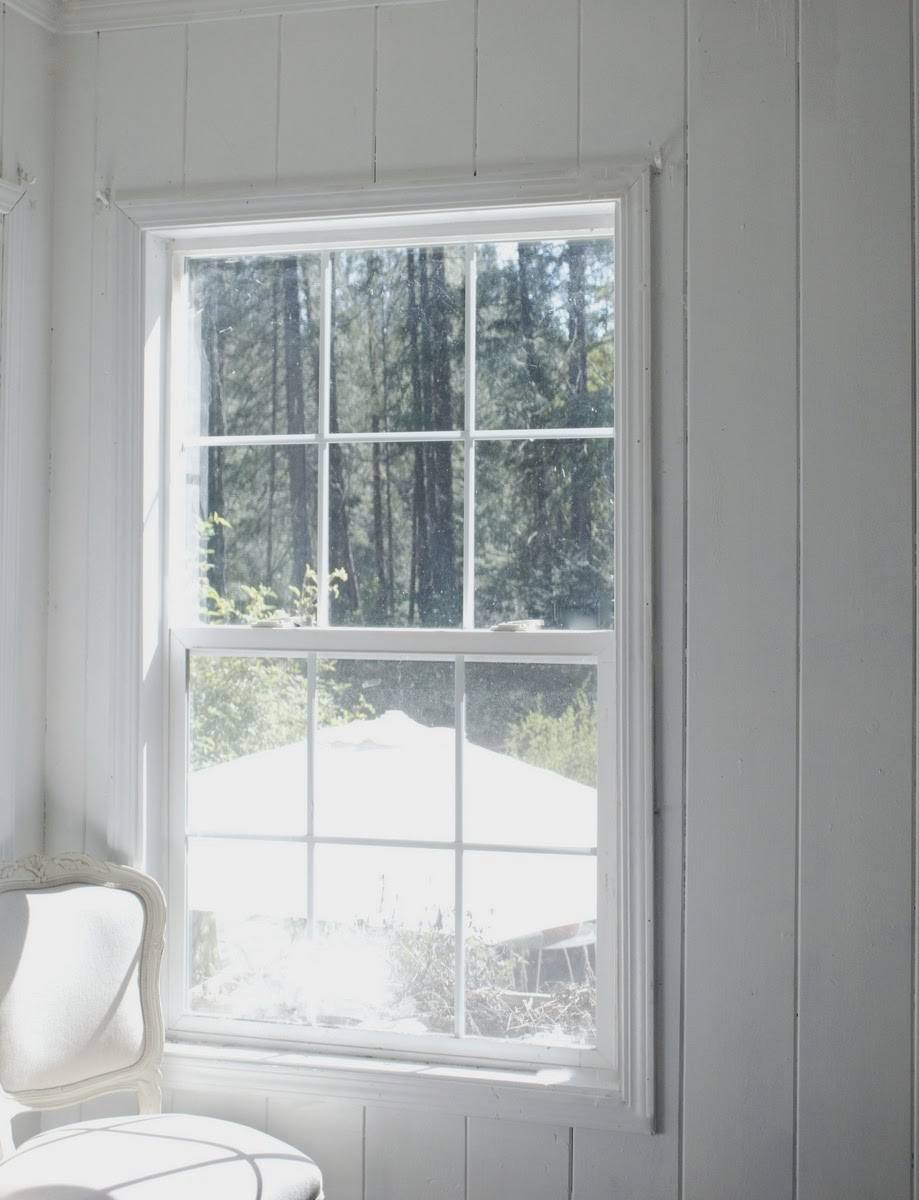 From blah guest room to french country cottage charm for French country windows