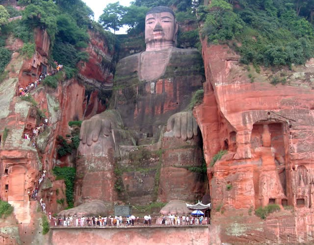Buda, Leshan, China