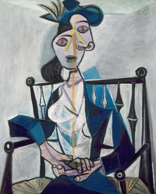 Pablo Picasso - femme assise 1941