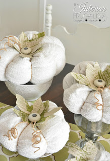 Sweater Pumpkins with knob stems