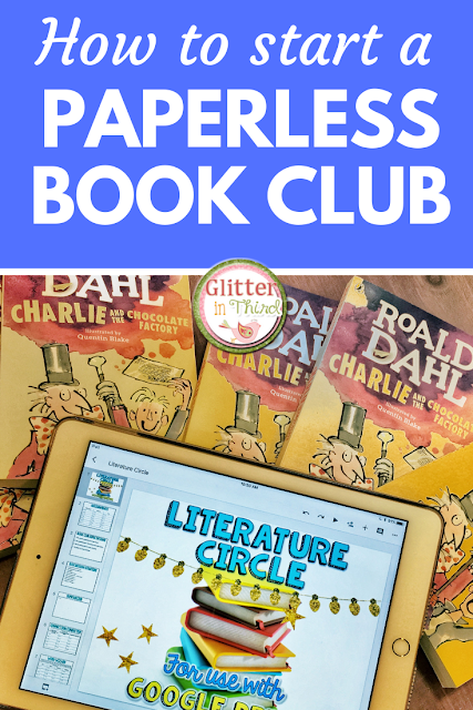 Make your book clubs paperless using Google Drive & Google Classroom