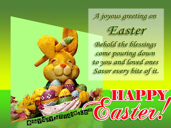 #15 Easter Day Quotes Happy Easter SMS Best Easter Day Message 2017