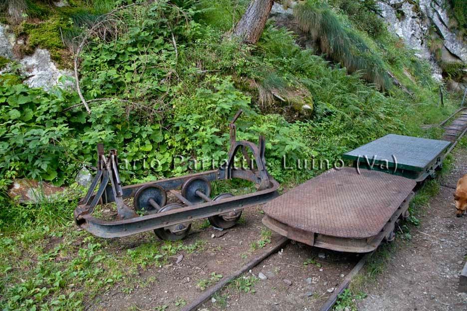 Lago di Campliccioli resti della ferrovia
