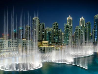 Dubai Fountain, Uni Emirat Arab