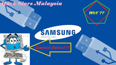 Fix USB Samsung Not rocognised