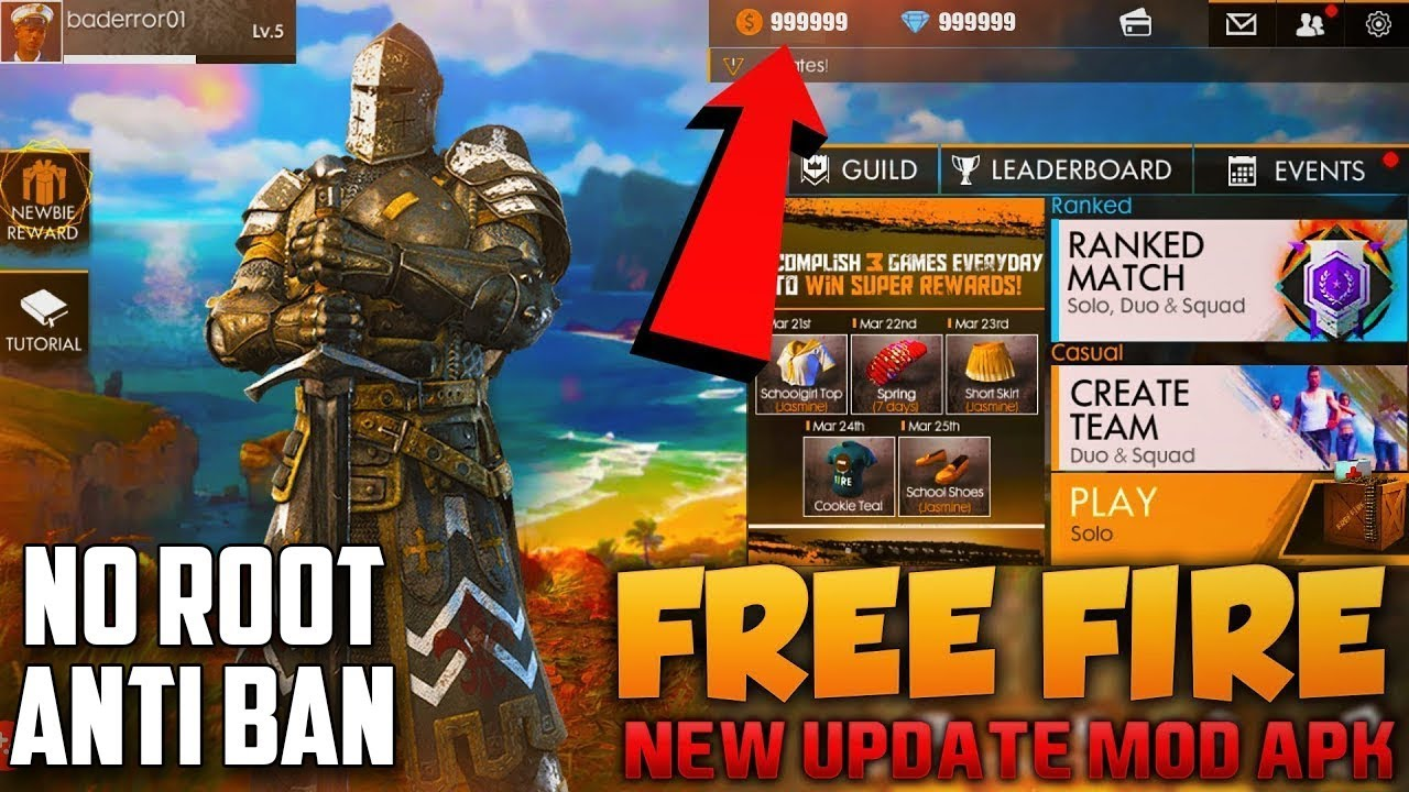 New] Free Hack Diamond And Coins 2019 Fire67 Club Free Fire