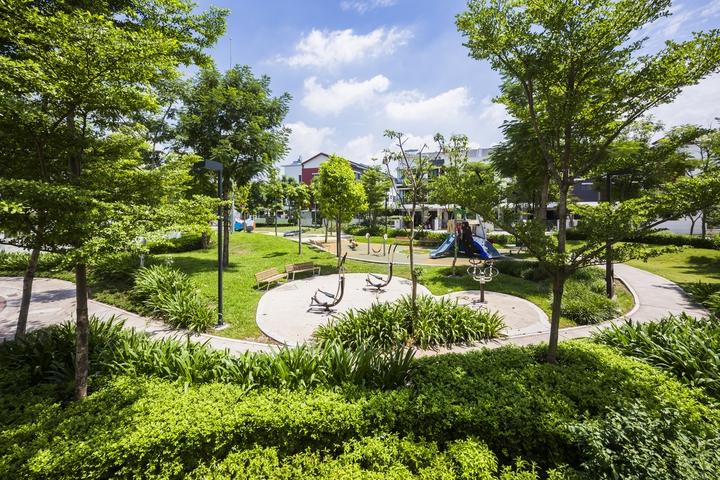 Không gian xanh đô thị KOSY Lào Cai