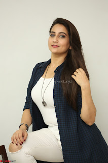 Manjusha in White Tight T Shirt and Black Jacket ~ Exclusive Celebrities Galleries 017
