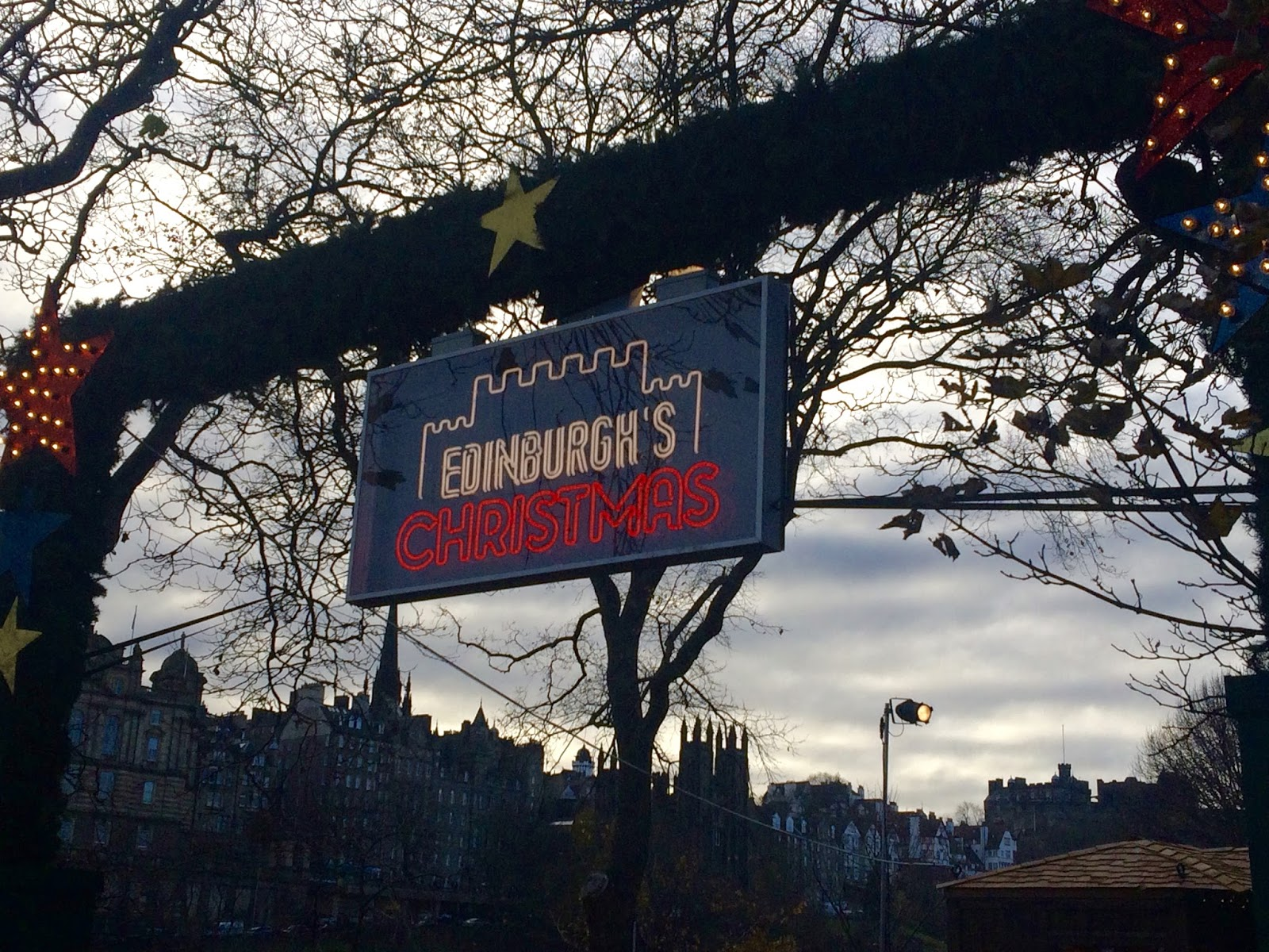 Edinburgh Christmas 2016