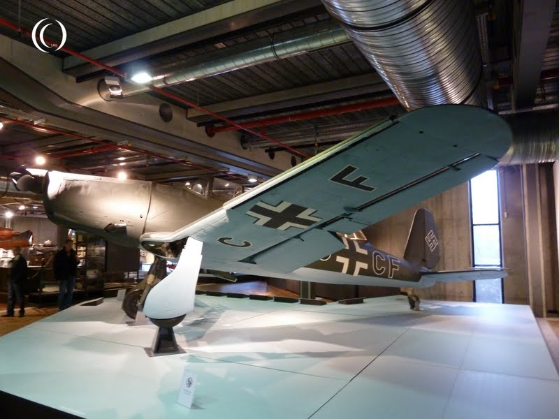 Arado Ar 96 B1 in the Deutsches Technikmuseum Berlin Germany