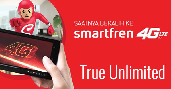 Paket Internet 4G LTE Smartfren