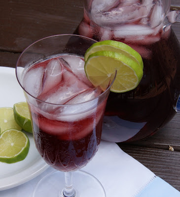 Blueberry-Lime Iced Tea | The Kitchen is My Playground