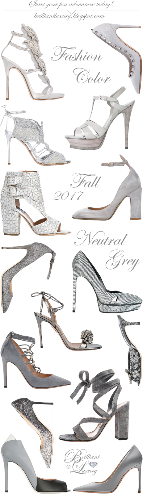 Brilliant Luxury ♦ Fashion Color Fall 2017 ~ neutral grey ~ Part I