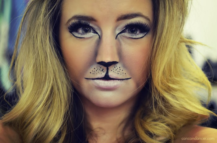 Hey guys! Today I have the first of a few Halloween looks that I have planned for this year, and is one of my absolute favorites. This look is the brave LION! Rawr! I really wanted to do another cat look after the warm reception my Puss In Boots Halloween look received last year. I got so many requests for a tutorial but I hadn't recorded one at the time so this one is a close cousin.