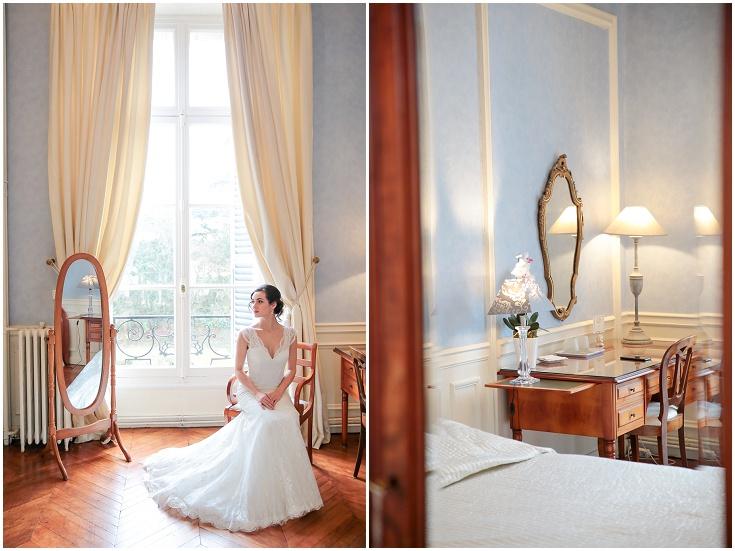 photographe mariage préparatifs chateau santeny