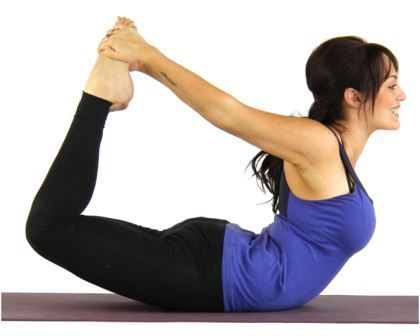 Dhanurasana - Simple Yoga Workout for Body Slimming