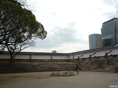 大阪城公園大手口枡形