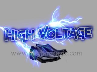 sepatu,sandal,selop,listrik,super,sakti,high voltage