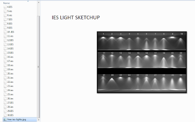 IES light vray sketchup
