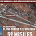 EE.UU. lanza 59 misiles de crucero contra una base aérea en Siria.