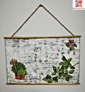 cuadros plantas aromaticas