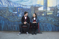 Dylan Minnette and Katherine Langford in 13 Reasons Why (2)