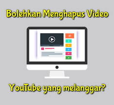 Video duplikasi youtube, menghapus video youtube, video hak cipta