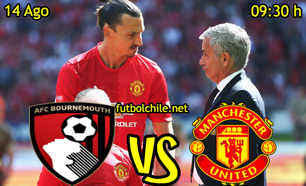 Ver stream hd youtube facebook movil android ios iphone table ipad windows mac linux resultado en vivo, online: Bournemouth vs Manchester United