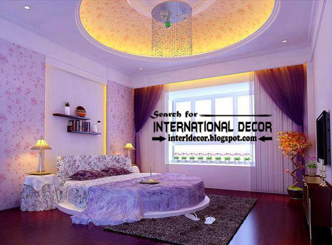Modern Suspended Ceiling Lights For Bedroom False Lighting Ideas
