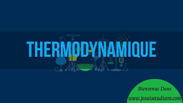 Cours Thermodynamique | Thermodynamique Physique