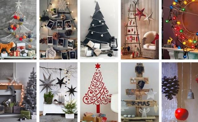 Μοντέρνες Χριστουγεννιάτικες Διακοσμήσεις