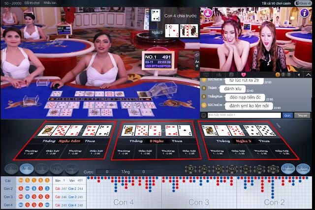 hướng dẫn chơi casino online