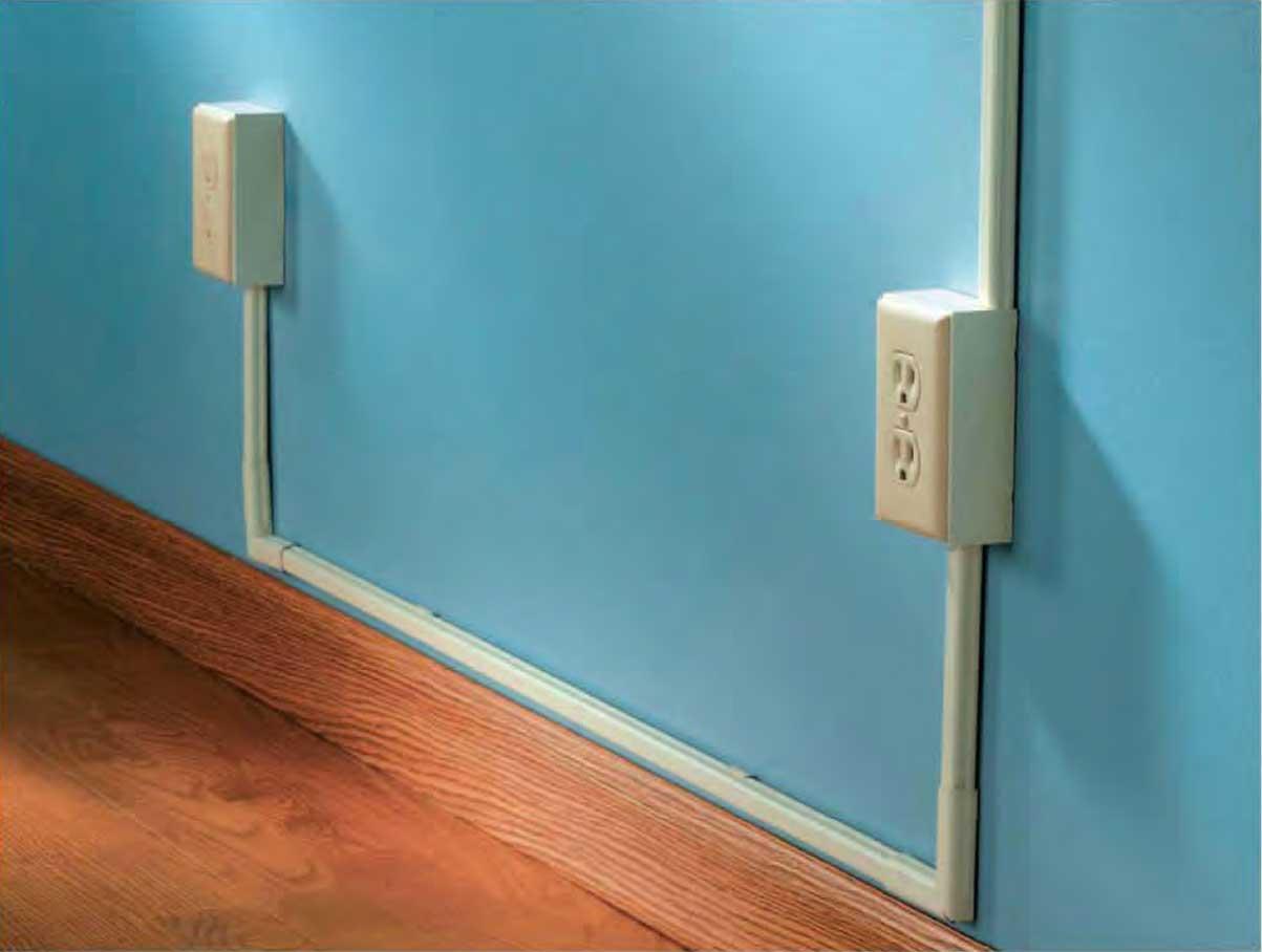 Instalaciones el ctricas residenciales canaletas para cables - Instalacion electrica superficie ...