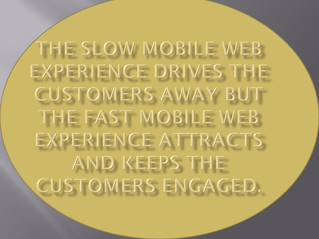 Fast Mobile Web Experience