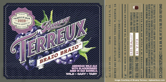 Bruery Terreux Working On Brazo Brazo American Wild Ale
