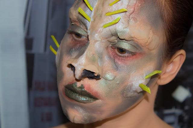 Quand le Monday Shadow Challenge rencontre le Art&Freak Show