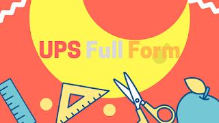 UPS Full Form