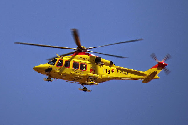 I-PAAA, Pegaso 2 helicopter, AgustaWestland AW-139, Livorno